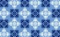 Vector seamless wallpaper 7 Stock Photo