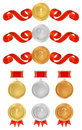Vector set: Awards Royalty Free Stock Photo
