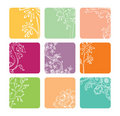 Vector set of color banners Royalty Free Stock Photo