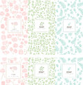 Vector set of design elements and icons in trendy linear style Royalty Free Stock Photo