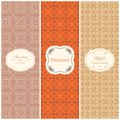 Vector set of design elements and seamless pattern for chocolate and cocoa packaging templates,in trendy linear style.