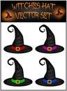 Vector Set Of Halloween Realis...