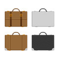 Vector set of luggage
