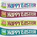 Vector set of ribbons for Easter holiday