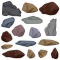 Vector set stones