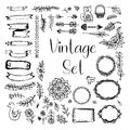 Vector Set Vintage
