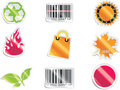 Vector shopping icon set and elements. Part 6 Royalty Free Stock Image