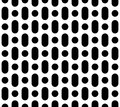 Vector simple geometric seamless pattern
