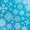 Vector Snowflakes Set Royalty Free Stock Photo