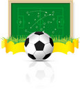 Vector soccer ball Stock Photo