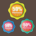 Vector special offer badge Stock Images