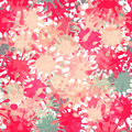Vector Splash Abstract Seamless Pattern Background Royalty Free Stock Photo