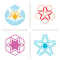 Vector Star logos Stock Image