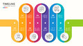 Vector 7 steps winding colorful timeline infographic template