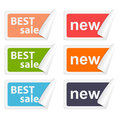Vector stickers best sale design elements eps Royalty Free Stock Images