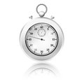 Vector stop watch this is file of eps format Royalty Free Stock Photography