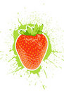 Vector strawberry Stock Image