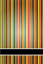 Vector stripe background/cover Stock Photo