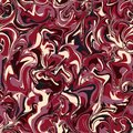 Vector stylization of marble paper, seamless pattern with bold o