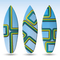 Vector Surfboards Design Royalty Free Stock Image