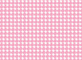 Vector Swatch Heart Striped Fabric Background Stock Image