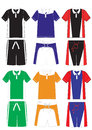 Vector t-shirt polo sports series Stock Photo