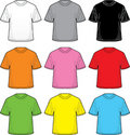 Vector T-Shirts Stock Photo