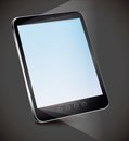 Vector tablet pc with empty screen Royalty Free Stock Images