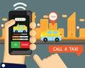 Vector : taxi application