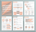 stock image of  Vector template for multipurpose presentation slides with graphs and charts. Infographic elements, chart, graph