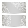 Vector templates floral pattern graphic designs birthday or invitation card Stock Photo