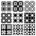 Vector Tile Pattern Stock Photography