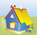 Vector toy house Stock Images