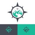 Vector travel logos