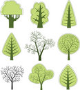 Vector tree 2 Royalty Free Stock Photo