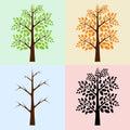 Vector Trees, Seasons