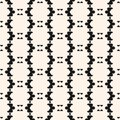 Vector tribal ornament seamless pattern in ethnic style. Texture in traditional folk style. Royalty Free Stock Photo