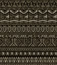 Vector tribal pattern Royalty Free Stock Images
