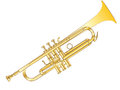 Vector Trumpet Royalty Free Stock Photo