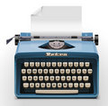Vector typewriter XXL icon Stock Images