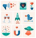 Vector valentines day, love Royalty Free Stock Photo