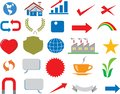 stock image of  Vector - Various Business Icon Logo Infographic