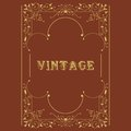 Vector vintage border Royalty Free Stock Images