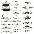 Vector vintage design elements set of ornaments