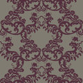 Vector Vintage Floral Baroque Damask Pattern element Imperial style Royalty Free Stock Photo