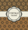 Vector vintage frame Stock Images