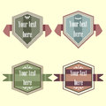 Vector vintage labels of high quality great value set and for bottles and forms to fill out the text for any purpose Stock Photo