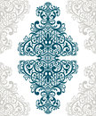 Vector vintage ornate border frame card cover Royalty Free Stock Photo