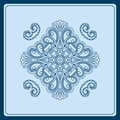 Vector vintage pattern for print embroidery you can use this pattern for carpet shawl pillow cushion Stock Photography