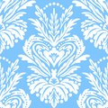 Vector vintage victorian pattern with damask motif
